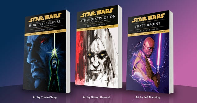 Classic Star Wars Novels Are Coming Back With Some Gorgeous New Covers
