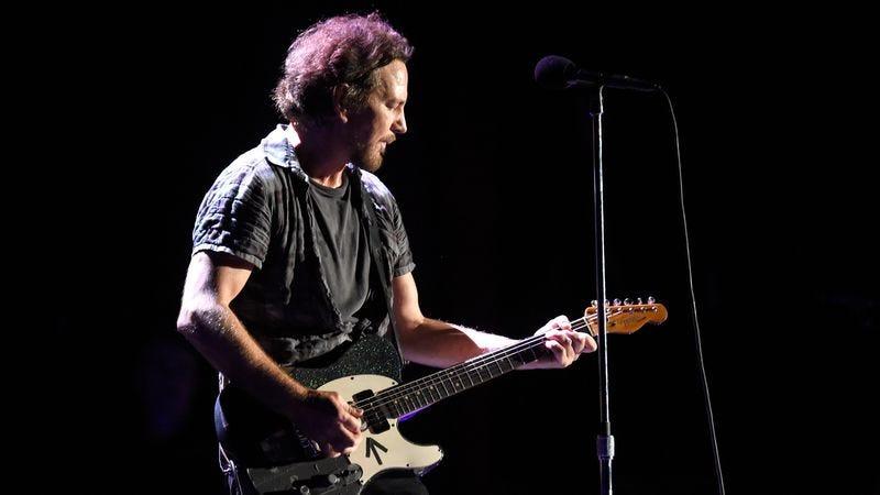 Pearl Jam's Eddie Vedder. (Photo: Getty Images)