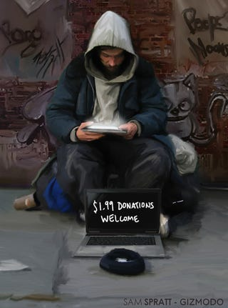 Illustration for article titled I'm Homeless and This Is Why I Have an iPad