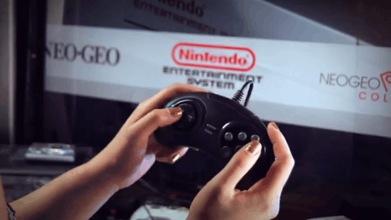 Con esta mini consola retro puedes jugar a 28 sistemas diferentes, incluyendo Nintendo 64 y Neo Geo