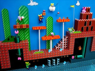 Illustration for article titled A Super Sweet Super Mario Bros. Peep Show
