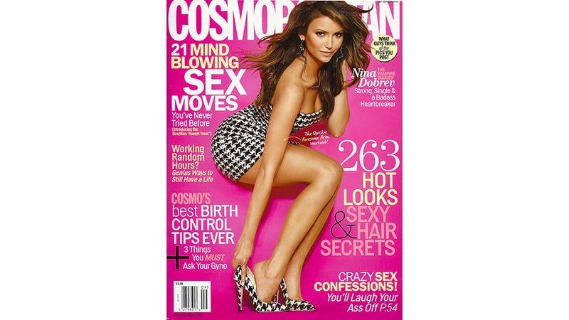 September Hos Cosmo betyder, at du sætter en kondom på en fyr ved hjælp af dine fødder-1275