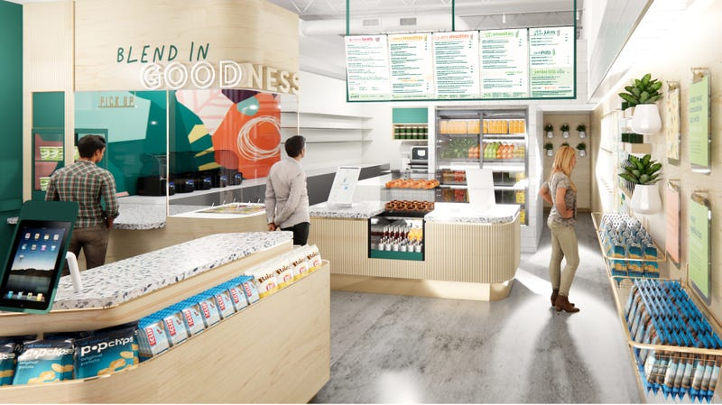 A rendering of Jamba's new layout