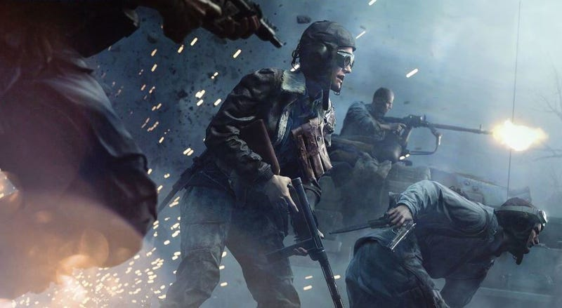 Illustration for article titled Battlefield V's Beta Feels Too Slow