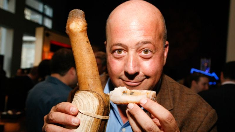Illustration for article titled Andrew Zimmern