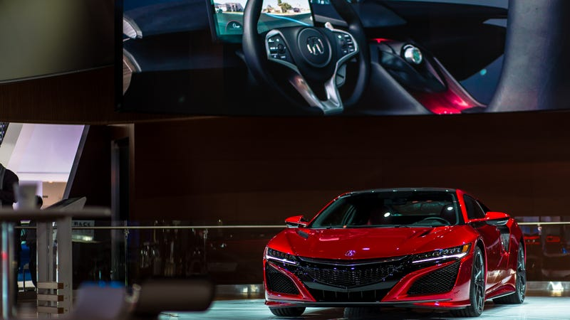 Illustration for article titled The New NSX Is So Damn Pretty