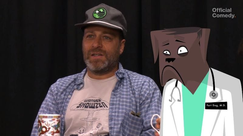 Illustration for article titled H. Jon Benjamin voices characters on the spot for the Worst Gig Ever web series