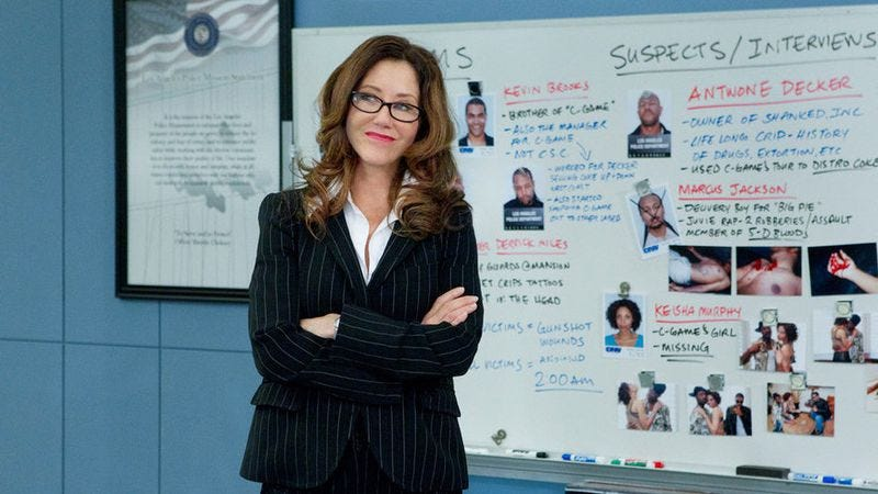 Mary mcdonnell shaved head