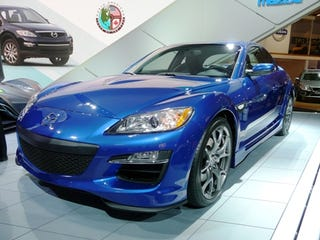 Illustration for article titled Detroit Auto Show: 2009 Mazda RX8 Officially Unveiled