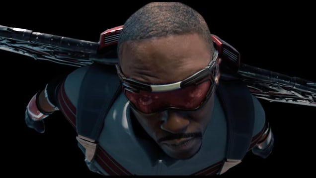 Marvel s Falcon Becomes Captain America in This VFX Video Breaking Down His Transformation