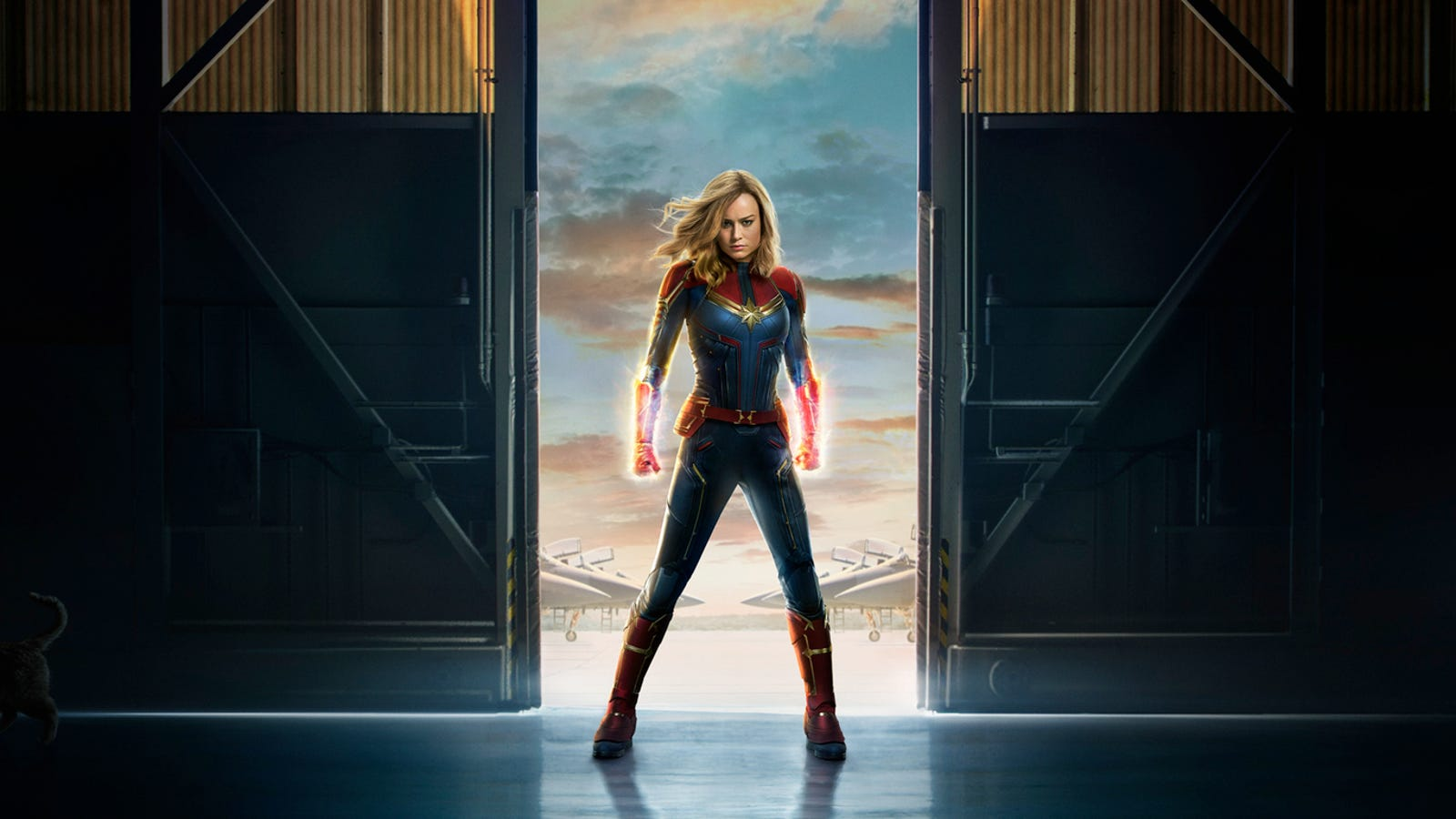 photo image Captain Marvel Is Crash Landing Into Disney's California Adventure Park