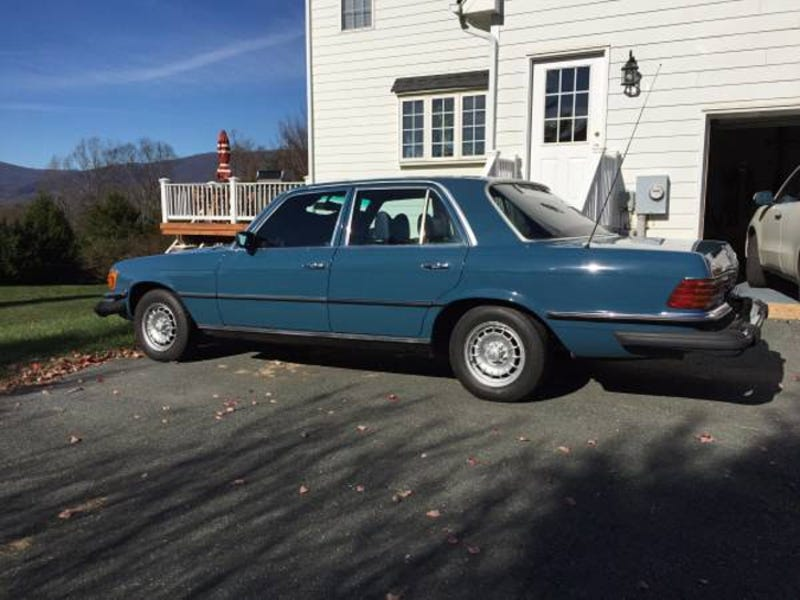 This 1979 Mercedes Benz 300SD Asks 6800 Has More Miles Than A