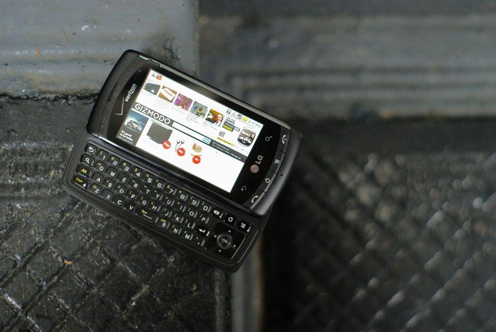 lg ally review it s no droid rh gizmodo com LG Smartphones Verizon LG Ally Smartphone
