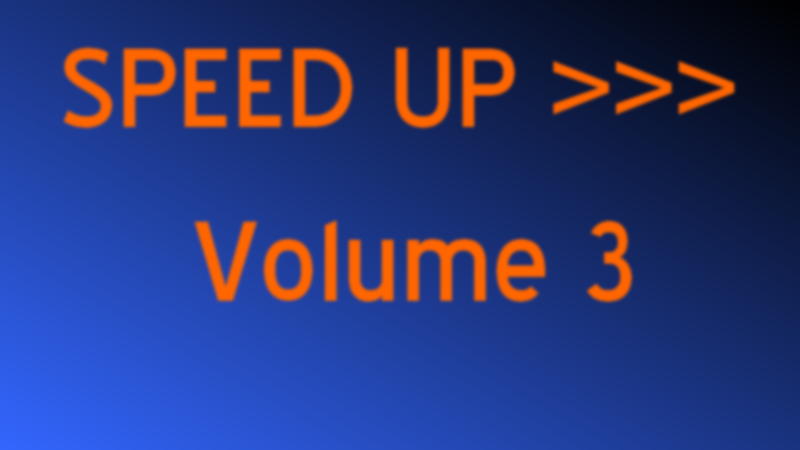 Illustration for article titled SPEED UP >>> Volume 3