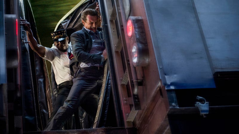Weekend Box Office: Liam Neeson misses the train