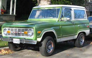 Ilration For Article Led Early 1970s Ford Bronco
