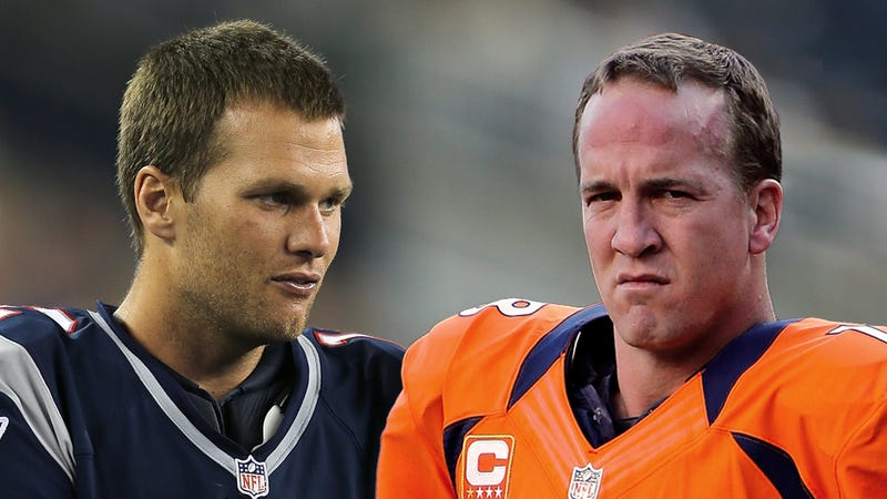 Illustration for article titled Pssst! It's Tom Brady And Peyton Manning: Your NFL Late Games Viewing Guide