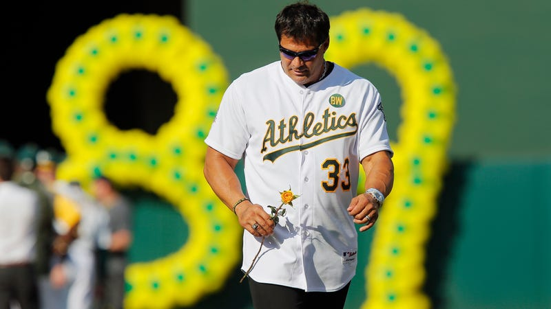 Jose Canseco could be out of a job after comments on harassment