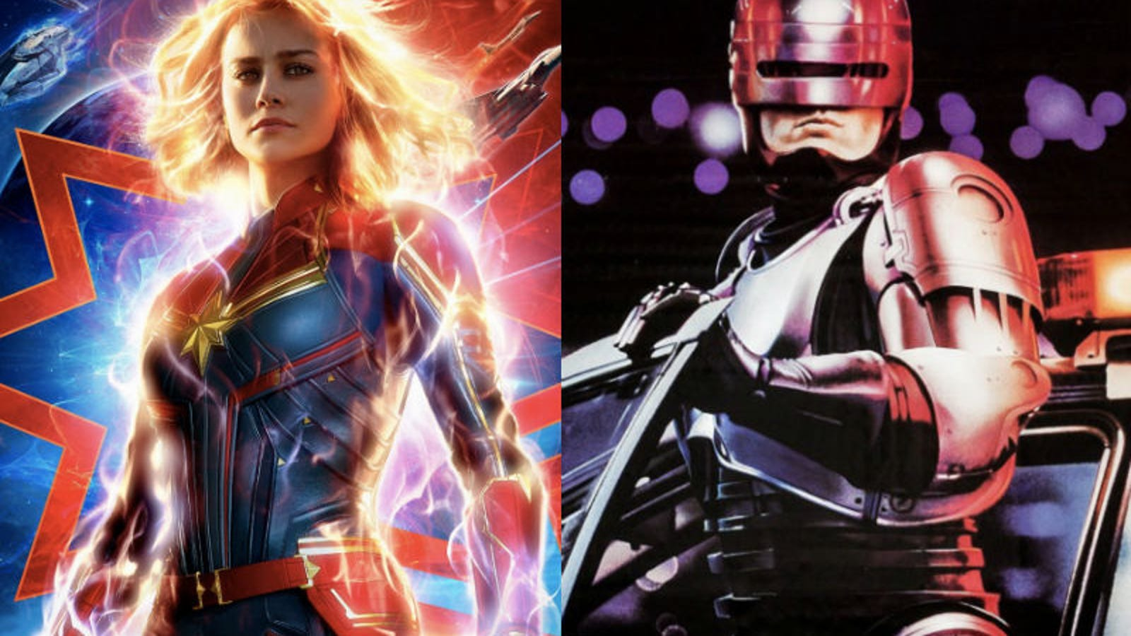 Captain Marvel Is Heavily Inspired By RoboCop, But Not for the Reasons You Think