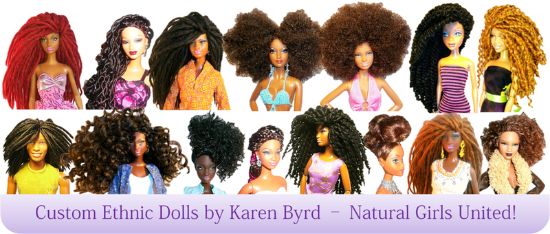Illustration for article titled Natural Hair Dolls to Celebrate Your Afro Puffs!