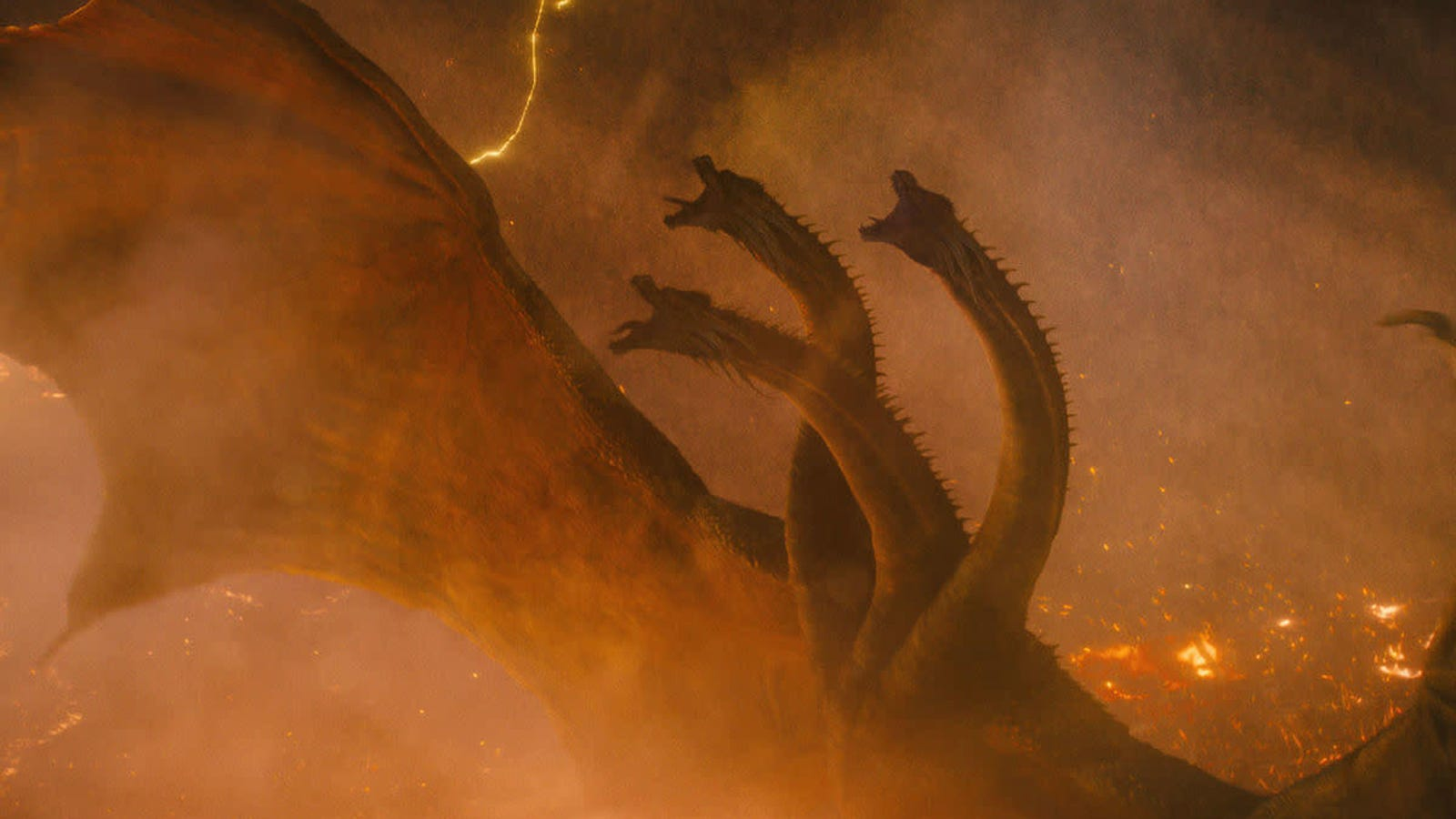 The Creators Behind Godzilla: King of the Monsters Explain How They Differentiated Ghidorah From Other Dragons - Gizmodo