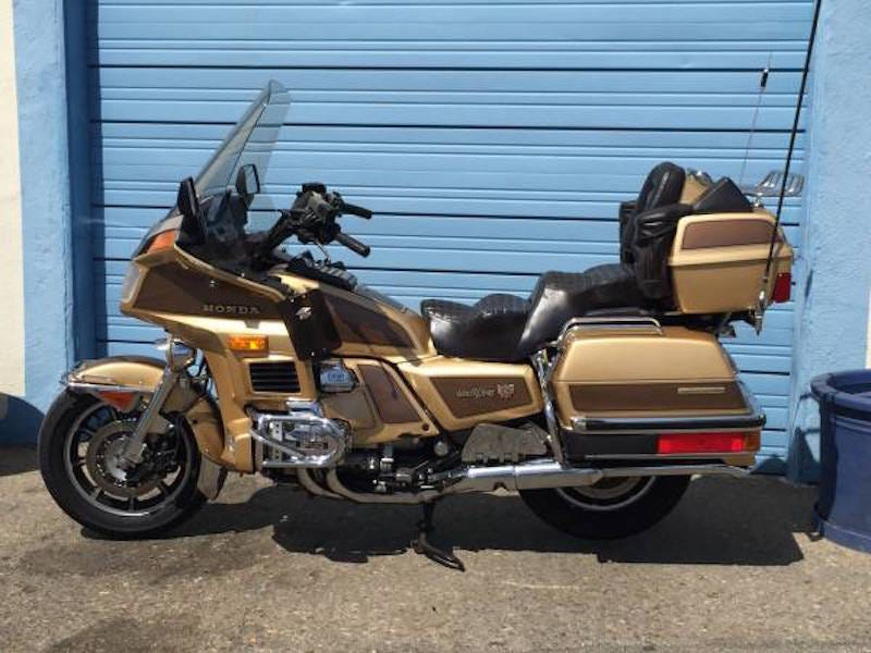 Illustration for article titled Someone Needs To Buy This GOLDwing Today. Seriously.