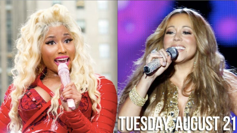 Illustration for article titled Mariah Carey Has Diva Conniption Fit Over Nicki Minaj Possibly Joining Idol
