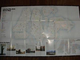 Illustration for article titled GTA IV Street Map Leaked