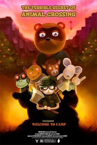 Illustration for article titled Animal Crossing As A Horror Story? I'm In.