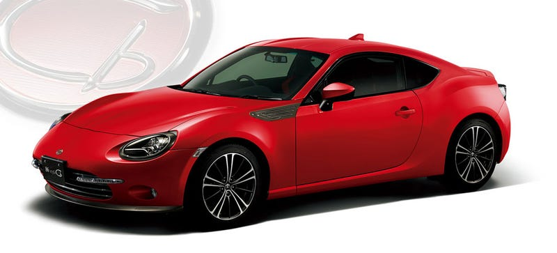 Illustration for article titled Redesigned Japan-Only GT86 Cb Looks Great, But Is 'For Women?' WTF?