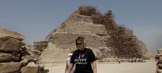 Illustration for article titled La pirámide más antigua de Egipto peligra en manos de sus restauradores