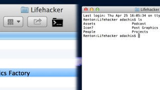 Illustration for article titled Cdto Opens Any Folder in the OS X Terminal with One Click