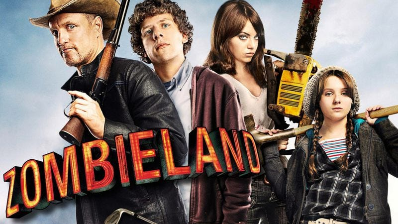 Illustration for article titled Zombieland 2 is probably happening, now that it has a new logo