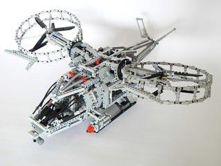 Illustration for article titled Motorized Lego Technic Avatar Helicopter is Grounded—For Now