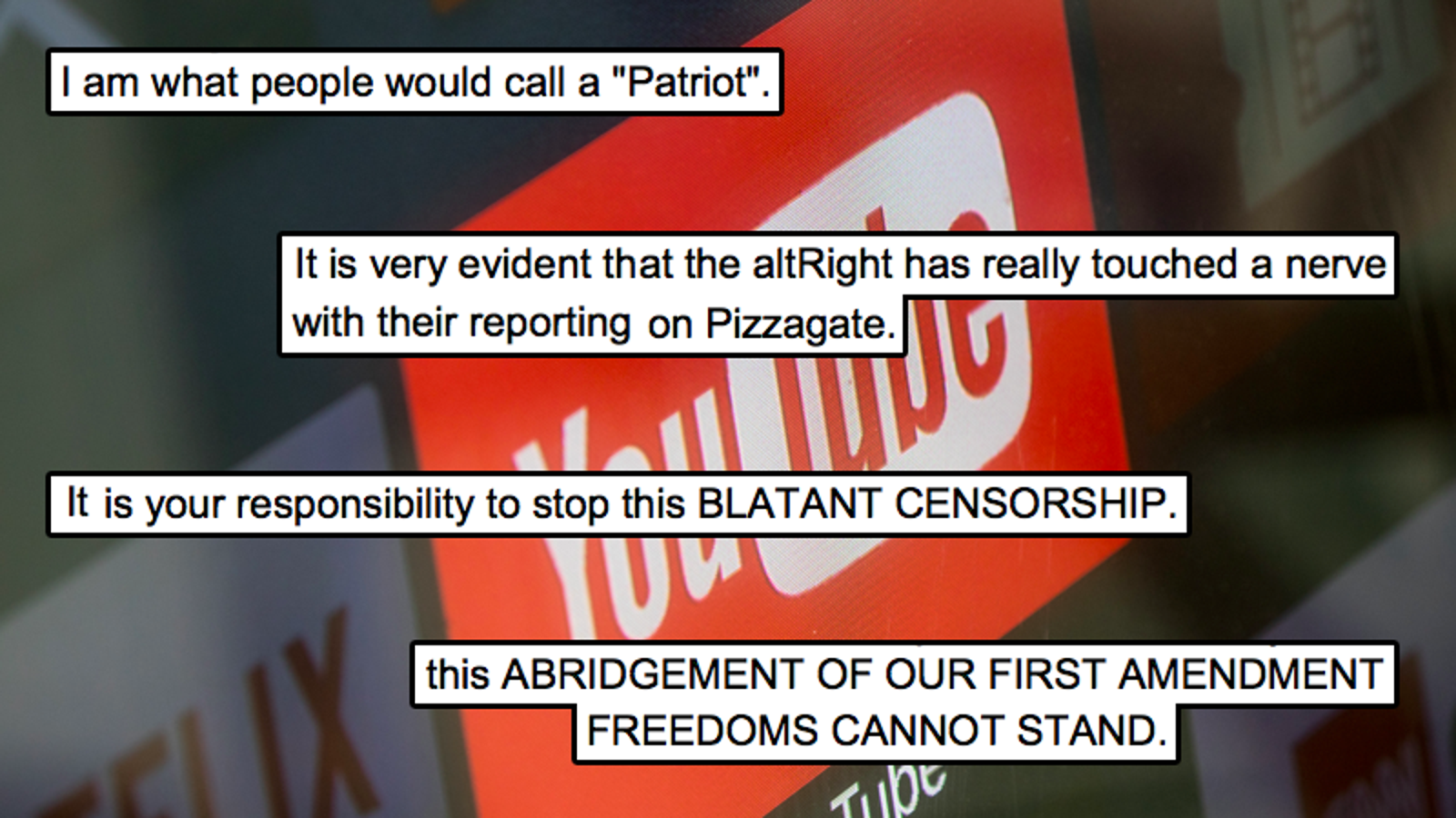 Stop This BLATANT CENSORSHIP': The Poor, Confused Souls