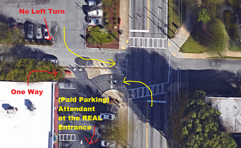 Illustration for article titled Worst intersection for idiots, ever.