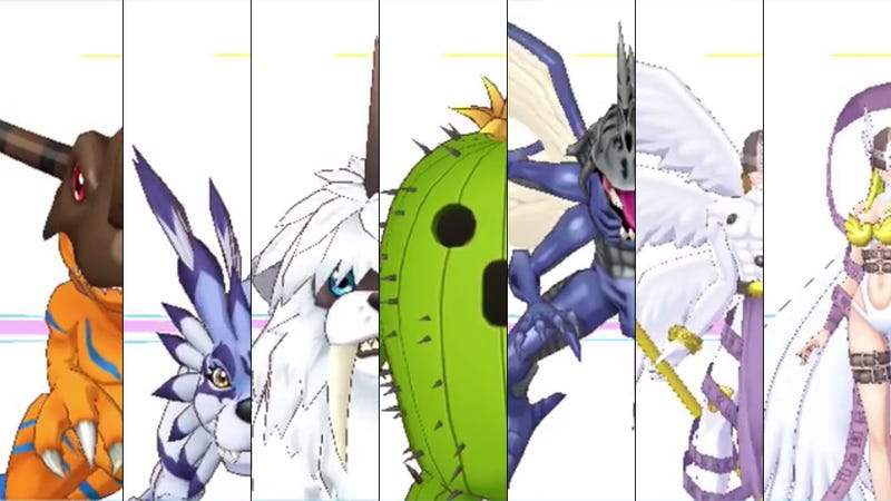 Illustration for article titled All 240 Digimon in Digimon Story: Cyber Sleuth