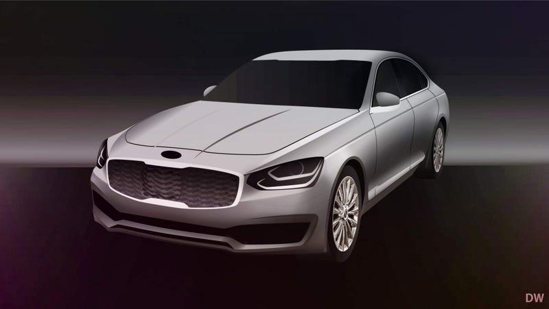 Illustration for article titled Kia K900 Successor Will Prepare Future Premium Brand