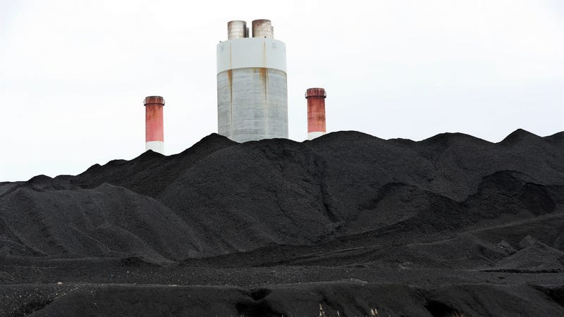 Not the Puerto Rican coal ash mountain, but this is what coal ash looks like.