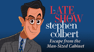 Stephen Colbert has a text adventure now, and it's great.