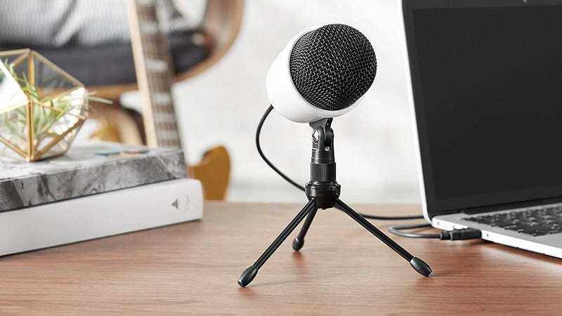 AmazonBasics USB Condenser Microphone | $18 | Amazon