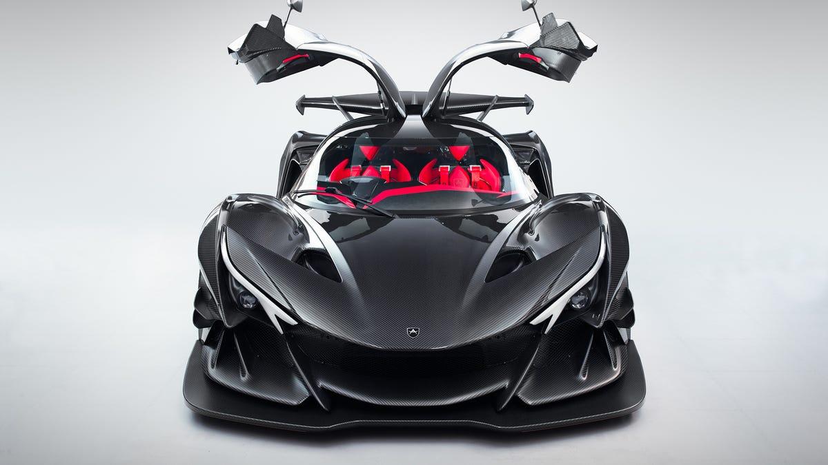 The Apollo Intensa Emozione Is A V12 Monster That Makes Lamborghini Look Tame
