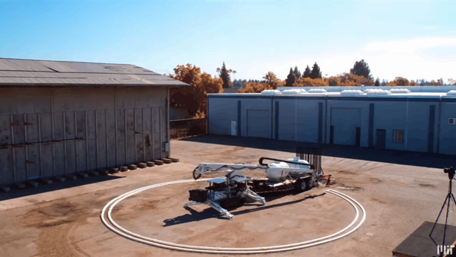 Este Robot Que Construye Edificios Mediante Impresi N 3d