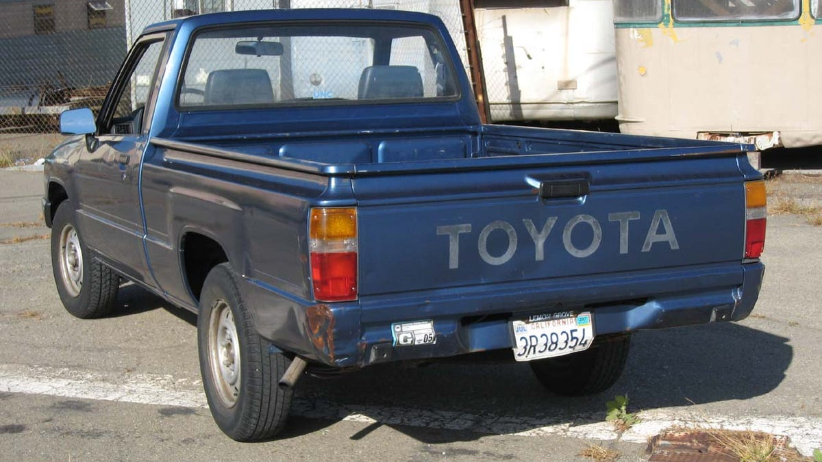 The Most Reliable Motor Vehicle I Know Of: 1988 Toyota Pickup