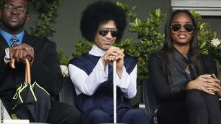 Illustration for article titled Prince at the French Open?