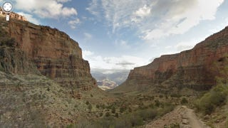 Illustration for article titled Wow. So Google Street View is now available for the Grand Canyon.