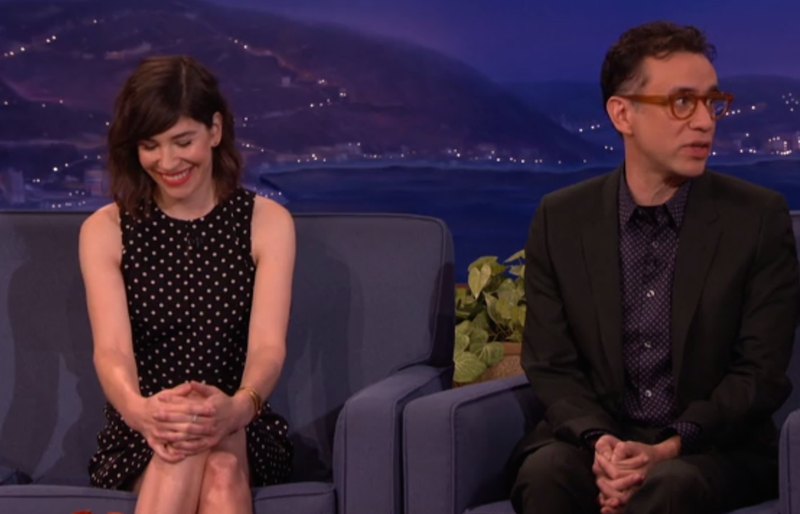 Illustration for article titled Fred Armisen Wants To Be A Sleater-Kinney Roadie, Can't Lift Anything