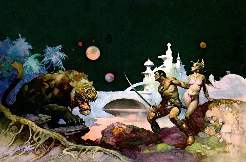 Illustration for article titled R.I.P. Frank Frazetta, The Artist Of Our Fantasies