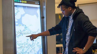Illustration for article titled New York City Is Getting Futuristic Touchscreen Subway Maps