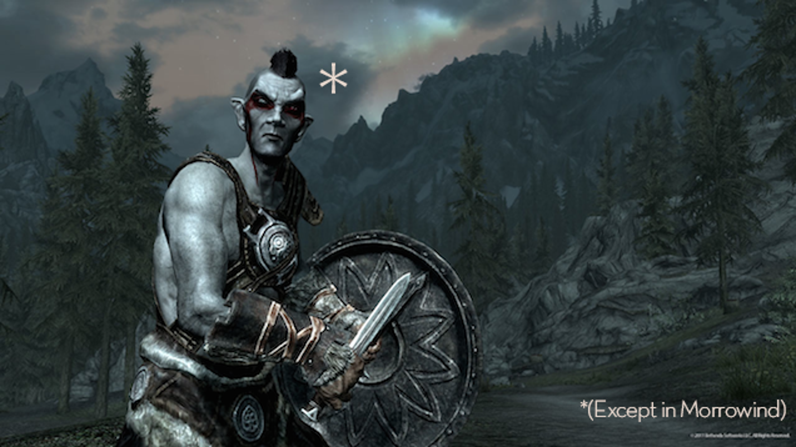 Your Dream Of Playing A Morrowind Dark Elf May Finally Come True